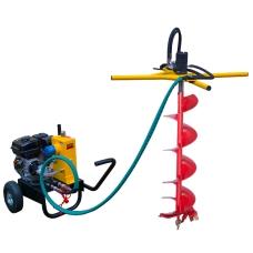 Гидравлический мотобур (бензобур) Iron Mole Compact