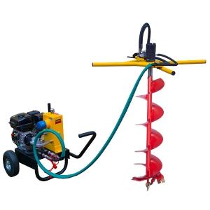 Гидравлический мотобур (бензобур) Iron Mole Compact в аренду