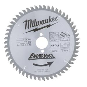 Диск для цикруляроной пилы Milwaukee 190х30 мм, Z48
